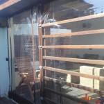 inchidere terasa folie transparenta cu capse 2