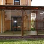 inchidere terasa folie transparenta rulou simplu 2