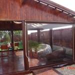 inchidere terasa rulou folie transparent incasetat 2