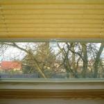 pliseu fereastra velux